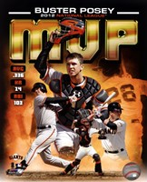 Buster Posey 2012 National League MVP Composite Fine-Art Print