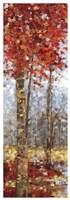 Crimson Woods I Fine-Art Print