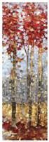 Crimson Woods II Fine-Art Print