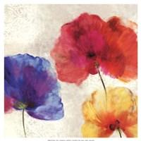 Lush Floral I (watercolour florals) Fine-Art Print