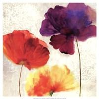 Lush Floral II  (watercolour florals) Fine-Art Print