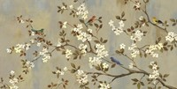 Conversation (Birds, Blossoms and Branches) Fine-Art Print