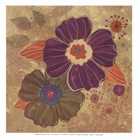 FALL FLOWERS I - MINI Fine-Art Print