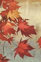 Maple Leaves I - mini Fine-Art Print
