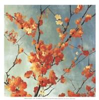 Orange Blossoms I - mini Fine-Art Print