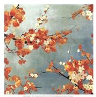 Orange Blossoms II - mini Fine-Art Print