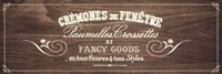 fancy Goods - brown Fine-Art Print