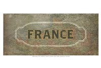 Vintage Sign - France Fine-Art Print