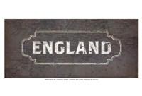 Vintage Sign - England Fine-Art Print