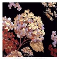 Velvet Hydrangeas II - Mini Fine-Art Print