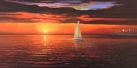 Rosso tramonto Fine-Art Print