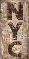 NYC Vertical Fine-Art Print