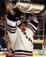 Mike Richter - '93/'94 with cup Fine-Art Print