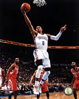 Basketball - Russell Westbrook 2012-13 Action Fine-Art Print