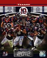 Houston Texans 2012 Team Composite Fine-Art Print