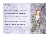 My Fairy by Lewis Carroll - horizontal Fine-Art Print