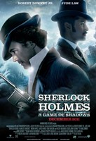 Sherlock Holmes A Game of Shadows A Wall Poster