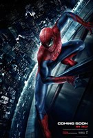 The Amazing Spider-Man (on a building) Fine-Art Print