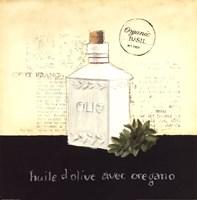 Huile d Olive II Framed Print