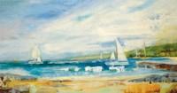 Seaside Harbor I Fine-Art Print