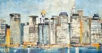 Waterfront Skyline Fine-Art Print