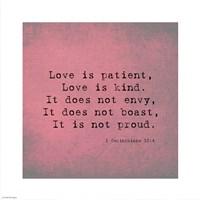 1 Corinthians 13:4 Fine-Art Print