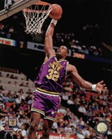 Karl Malone 1990 Action Fine-Art Print