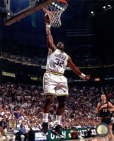 Karl Malone 1996 Action Fine-Art Print