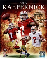 Colin Kaepernick 2012 Portrait Plus Fine-Art Print