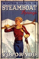 Ski Steamboat Springs Fine-Art Print