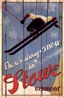 Ski Stowe Fine-Art Print