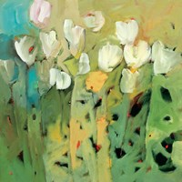 White Tulips II Fine-Art Print