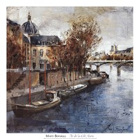 Ile de la Cite, Paris Fine-Art Print