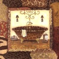 Zanzibar Bath I Framed Print