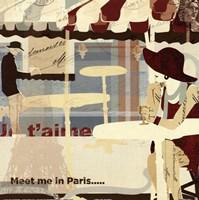 Meet me in Paris Fine-Art Print