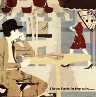 Paris in the Rain Fine-Art Print