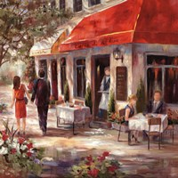 Cafe Afternoon II Fine-Art Print