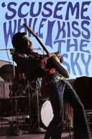 Jimi Hendrix - Kiss the Sky Fine-Art Print