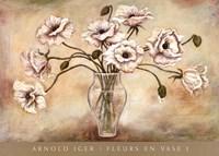 FLEURS EN VASE I Fine-Art Print