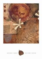 Gilded Leaf IV Fine-Art Print