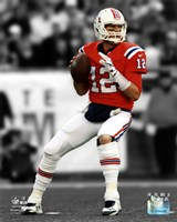 Tom Brady 2012 Spotlight Action Fine-Art Print