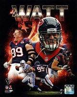 J.J. Watt 2013 Portrait Plus Fine-Art Print