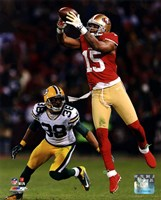 Michael Crabtree 2012 NFC Divisional Playoff Action Fine-Art Print