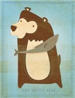 The Happy Bear Fine-Art Print