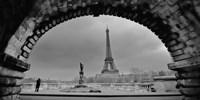Paris, Under the Bridge Fine-Art Print