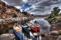 Canoe Break Fine-Art Print