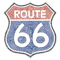 The Legendary Route 66 Fine-Art Print