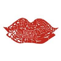 Kiss (on white) Fine-Art Print