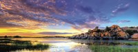 Willow Lake Spring Sunset Fine-Art Print