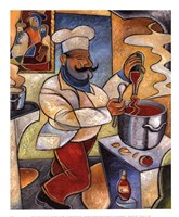PABLO'S RED SAUCE Fine-Art Print